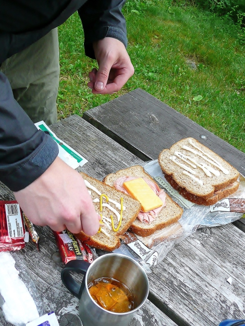 I am indeed a food writer. Why do you ask? Getting gourmet in Shenandoah NP,