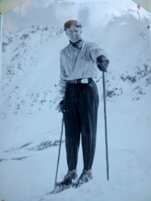 Hitting the slopes in the early 50s