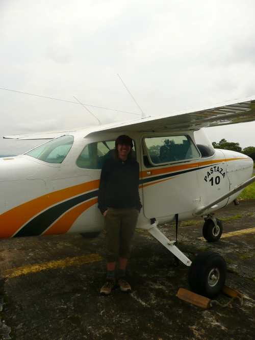 This Cessna almost crashed on take-off on my trip to the Ecuadorean Amazon. No exaggeration.