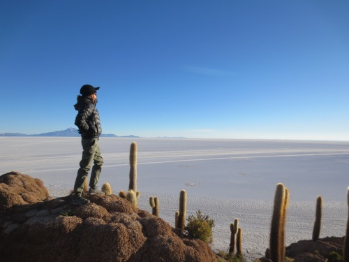 Salar de Uyuni, Bolivia- get there via the frontera town of Tupiza.